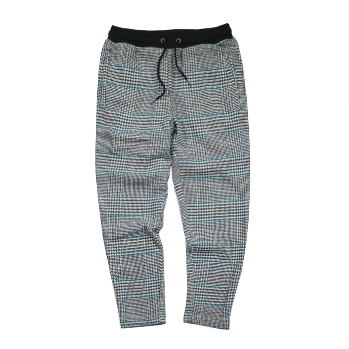 Patterned Cropped Skinny Trouser - Grey (02.23.21 Release)