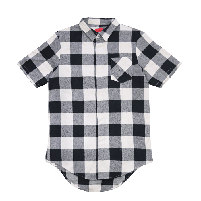 Chapman S/S Button Up - Black/Cream