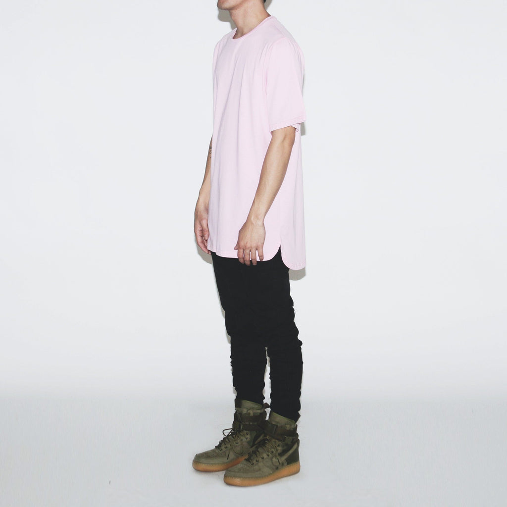 Half Scoop Hem SS Essential - Peach (04.08.21 Release)