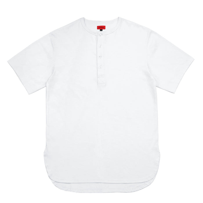 Access Preorder - Half Scoop Henley - White
