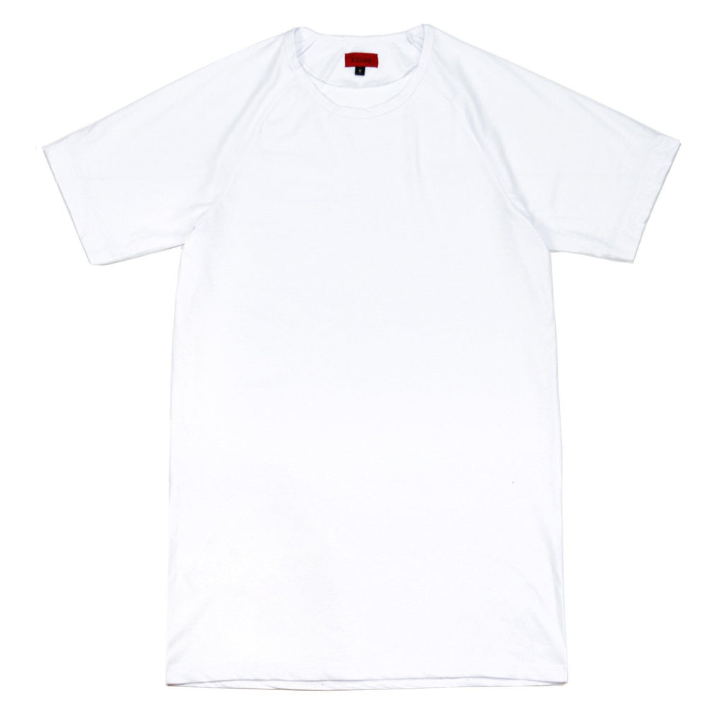 Harvard Elongated Shirt - White