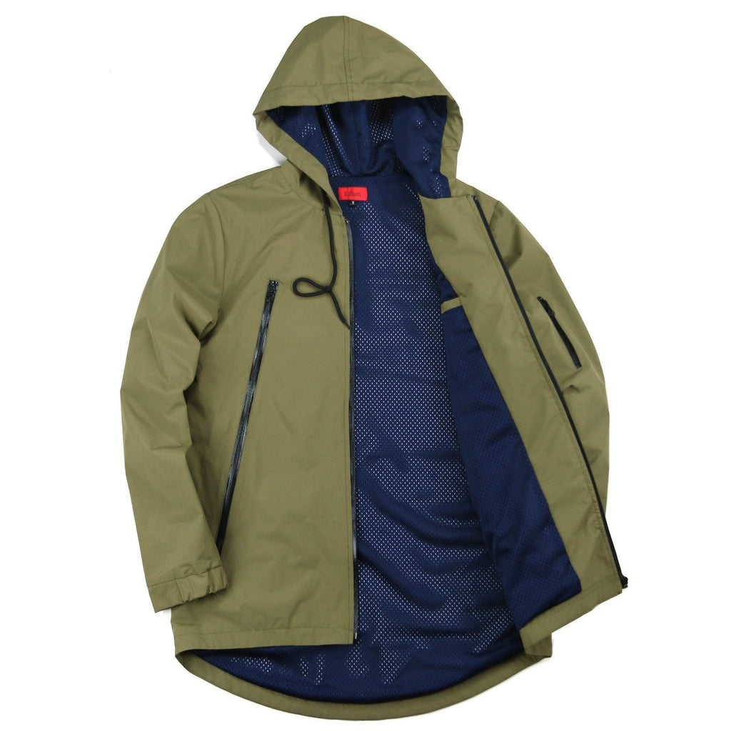 (11.12.19 Release) High Zip Tech Parka - Olive