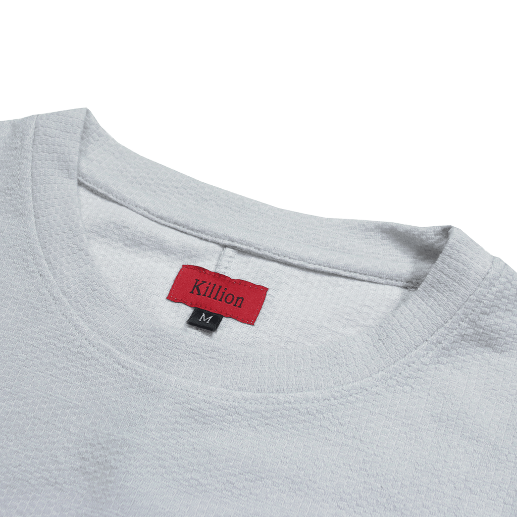 (01.22.20 Release) Off Grid Scallop Tee - Light Grey