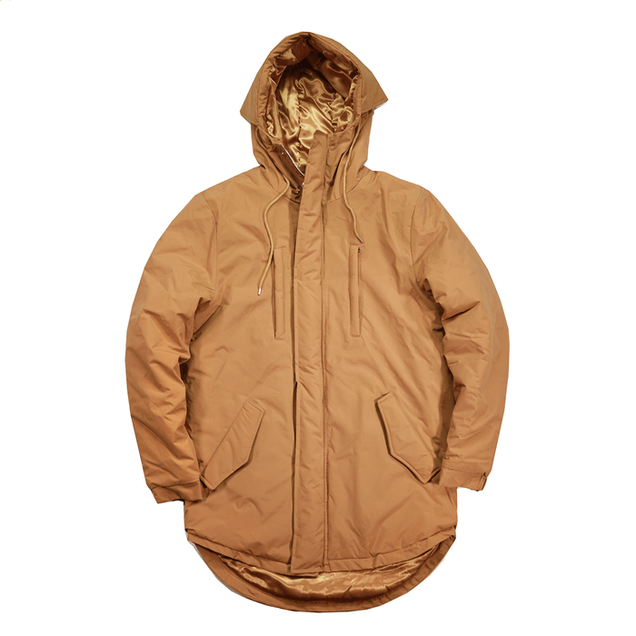 Explorer Padded Parka - Tan Brown