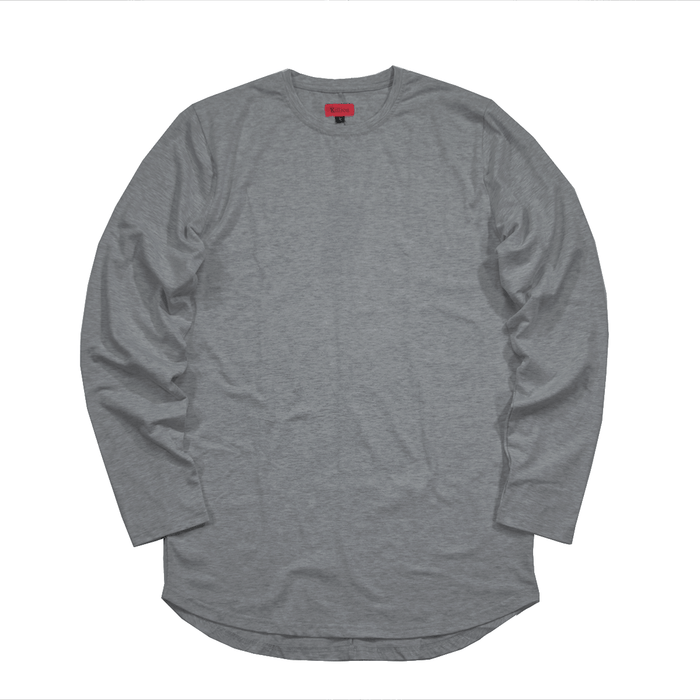 (01.09.20 Release) Standard Issue SI-12 L/S Essential - Charcoal