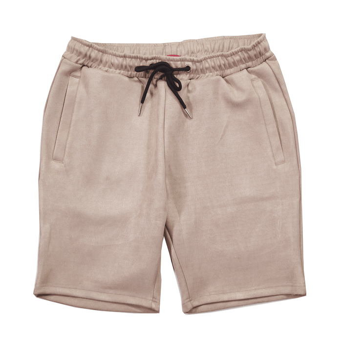 Suede Butter Shorts - Dark Sand