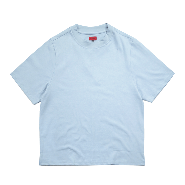 Premium Oversized Tee - Light Blue