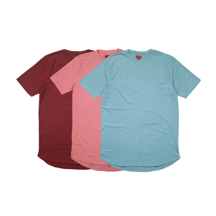 3-Pack SI-12 Essential - Wine/Salmon/Clay Blue