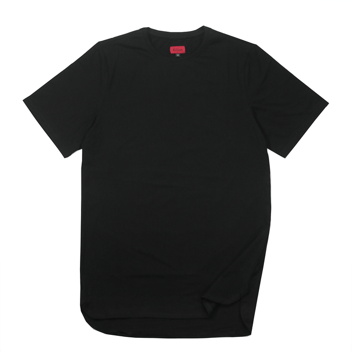 Half Scoop Hem SS Essential - Black (04.14.20 Release)