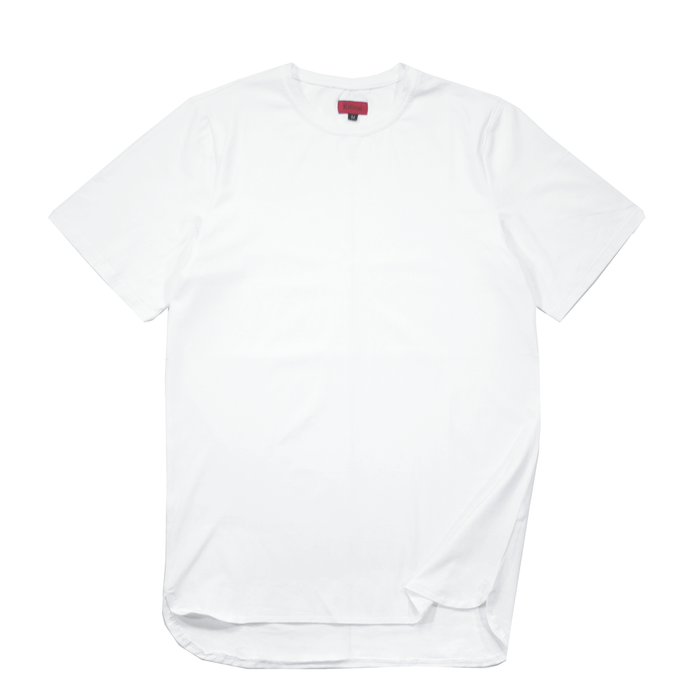 Half Scoop Hem SS Essential - White (04.08.21 Release)
