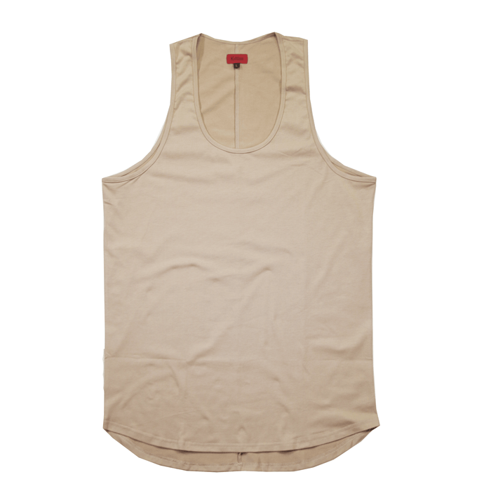 SI Scalloped Tank Top - Tan (05.05.20 Release)