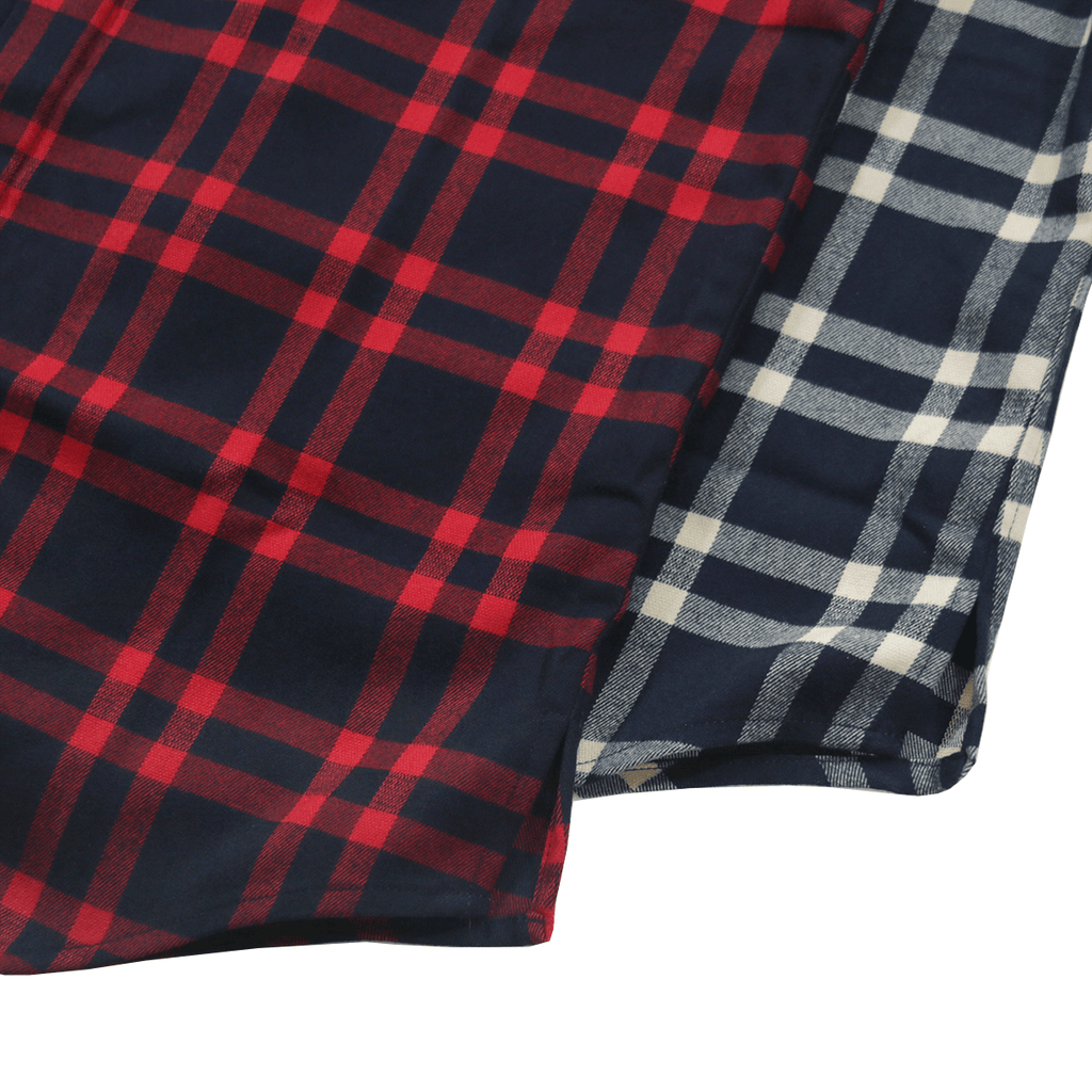 2-Pack Essex Flannel S/S Buttonup