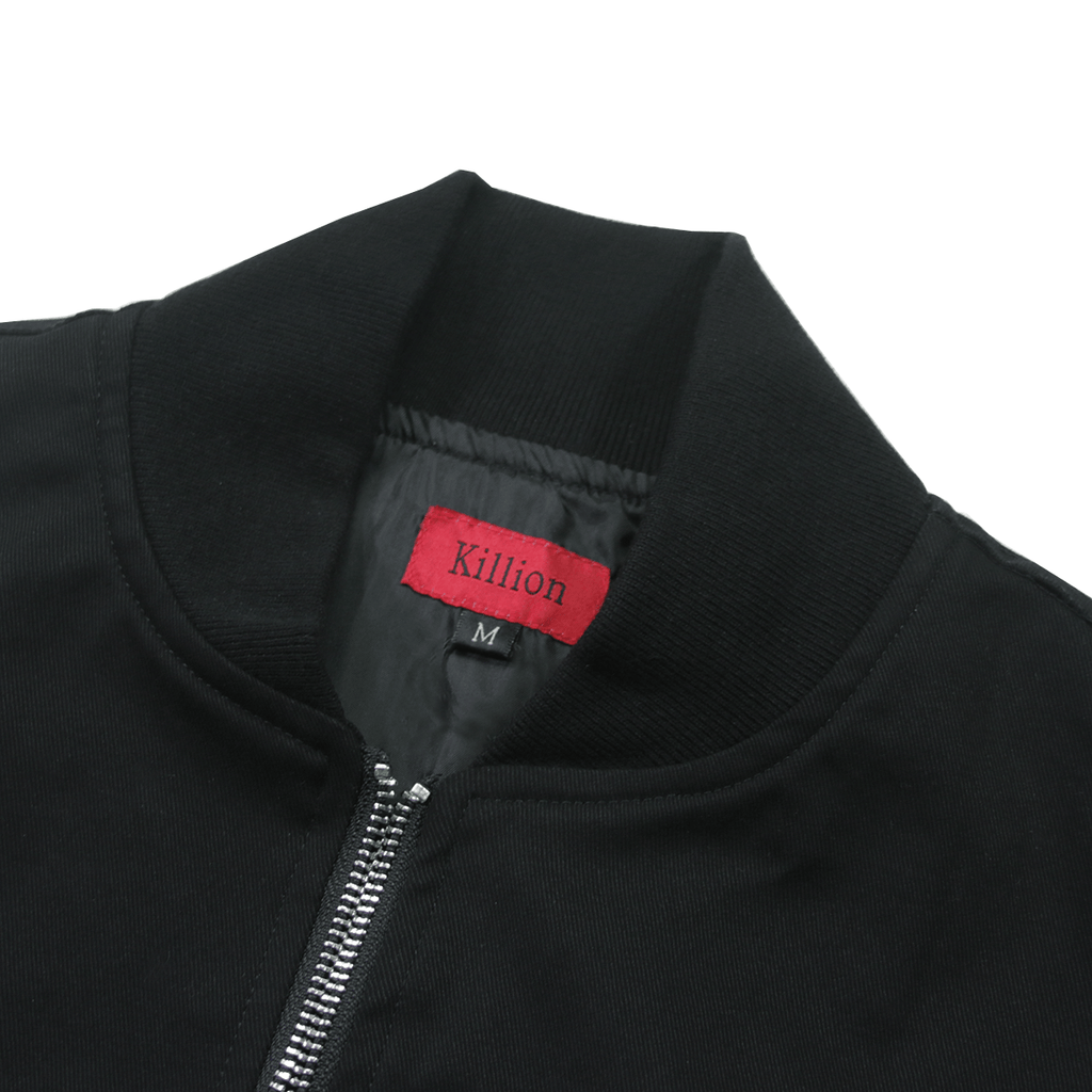 Lightweight MA-1 Bomber Jacket - Black (06.16.20 Release)