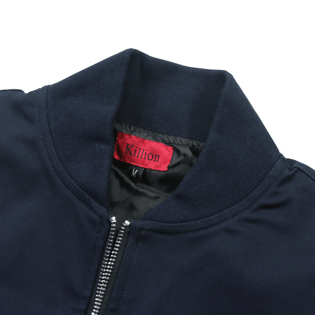 Lightweight MA-1 Bomber Jacket - Navy