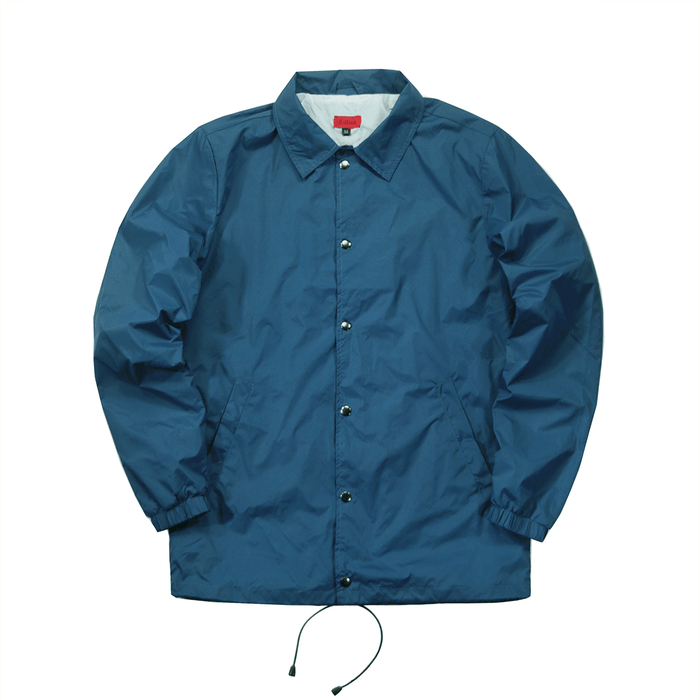 SI Nylon Coach Jacket - Teal Blue