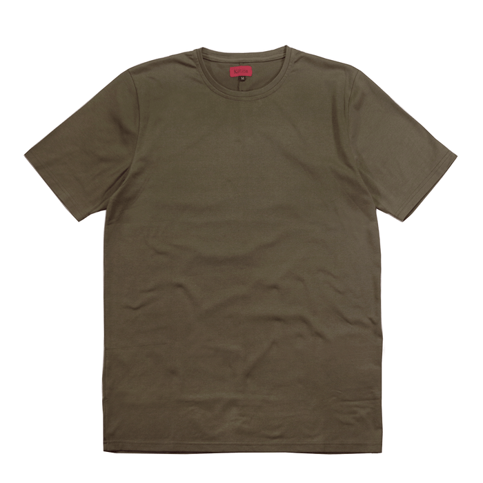 Standard Issue SI-12 Essential Flat-Hem - Warm Olive