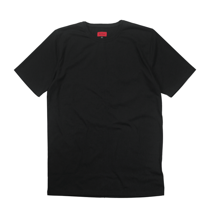 Standard Issue SI-12 Essential Flat-Hem - Black (03.10.20 Release)