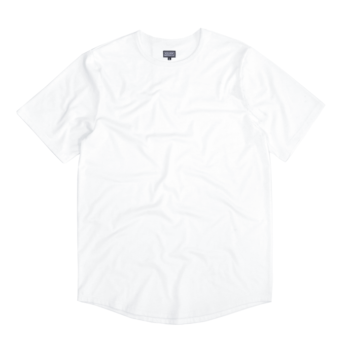 Premium Scallop Basic - White