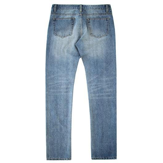 Standard Issue Stonewashed Denim Jeans