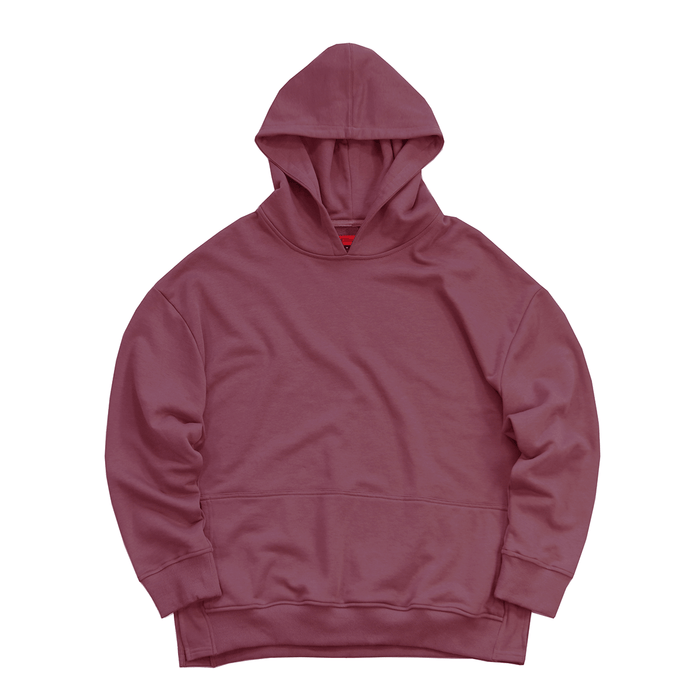 Oversized Side Cut Hoodie - Plum (03.24.20 Release)