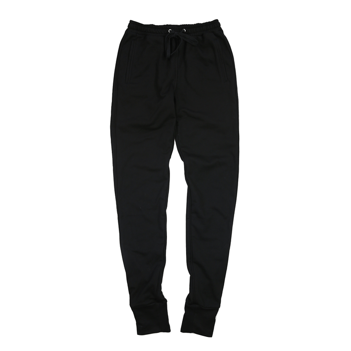 Piped Jogger - Black