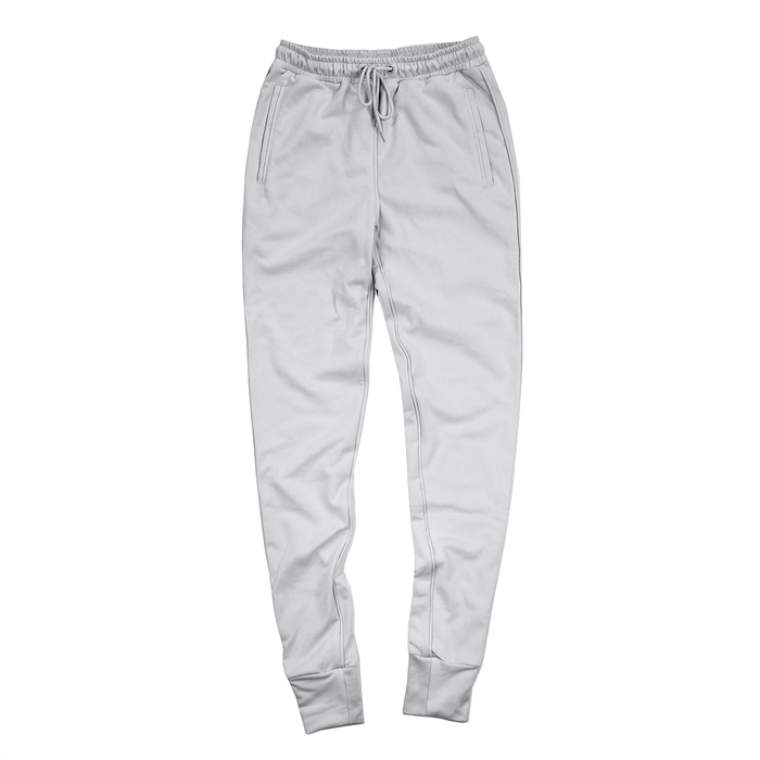 Piped Jogger - Light Grey