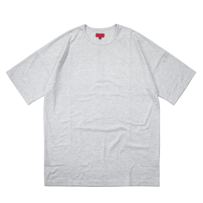 Essential Dropped Shoulder Box Tee - Light Heather Grey (03.26.19 RELEASE)