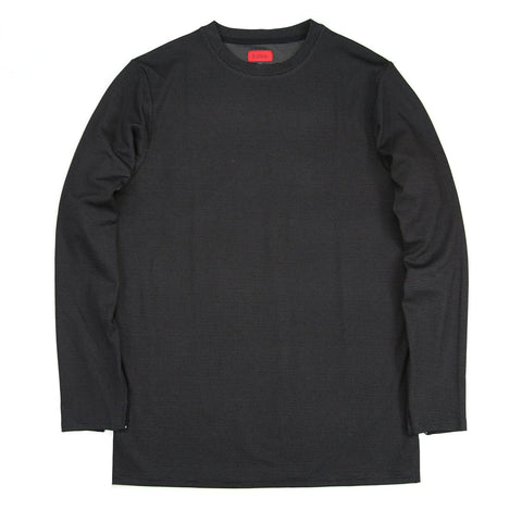 Microdot Long Sleeve - Black