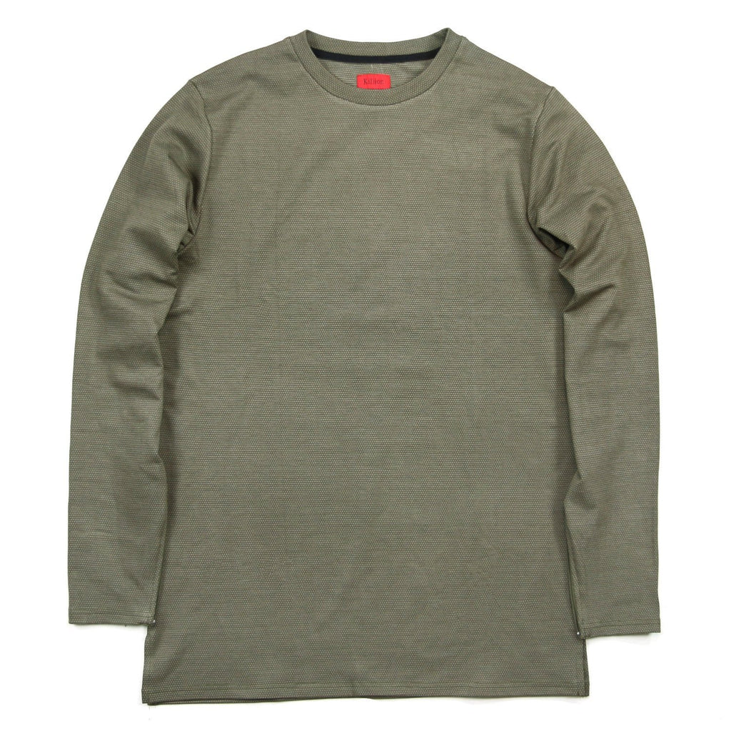 Microdot Long Sleeve - Olive