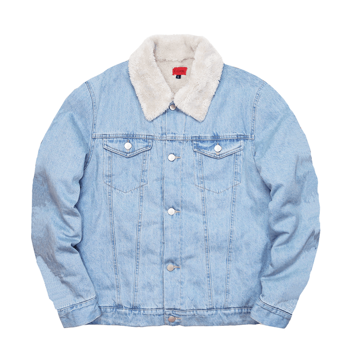 Sherpa Denim Jacket - Stonewash Blue (11.12.20 Release)