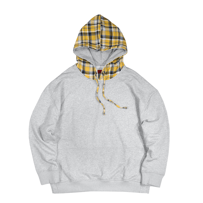 Oshin Oversized Hoodie - Heather Grey