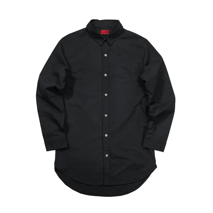 (11.28.19 7PM PT) Oxford Button Down - Black