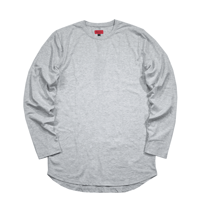 Standard Issue SI-12 L/S Essential - Heather Grey