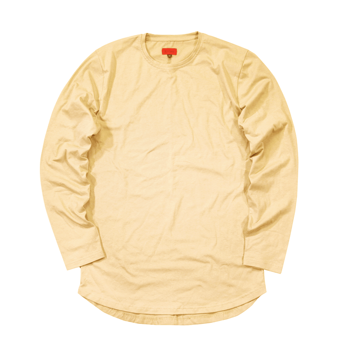 Standard Issue SI-12 L/S Essential - Light Yellow