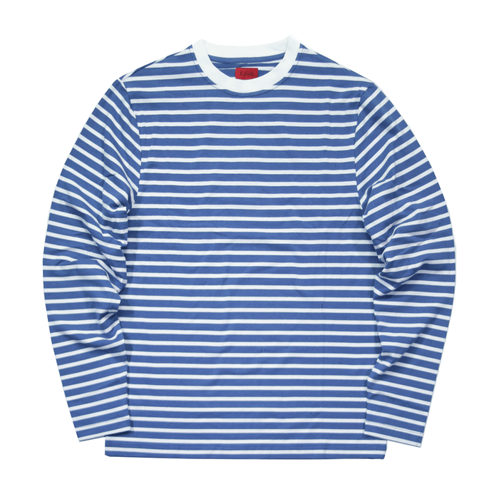 Standard Striped L/S Essential - Blue/White