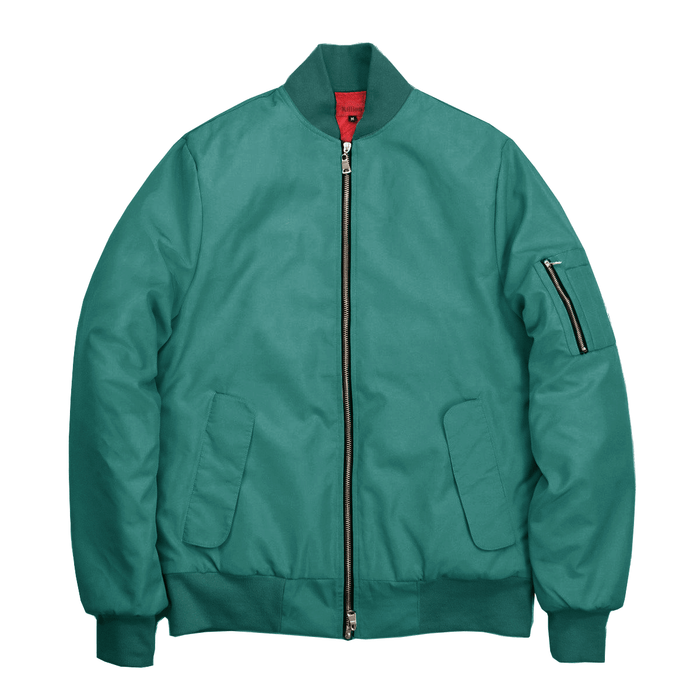 Standard Issue MA-1 Bomber Jacket - Forest Green