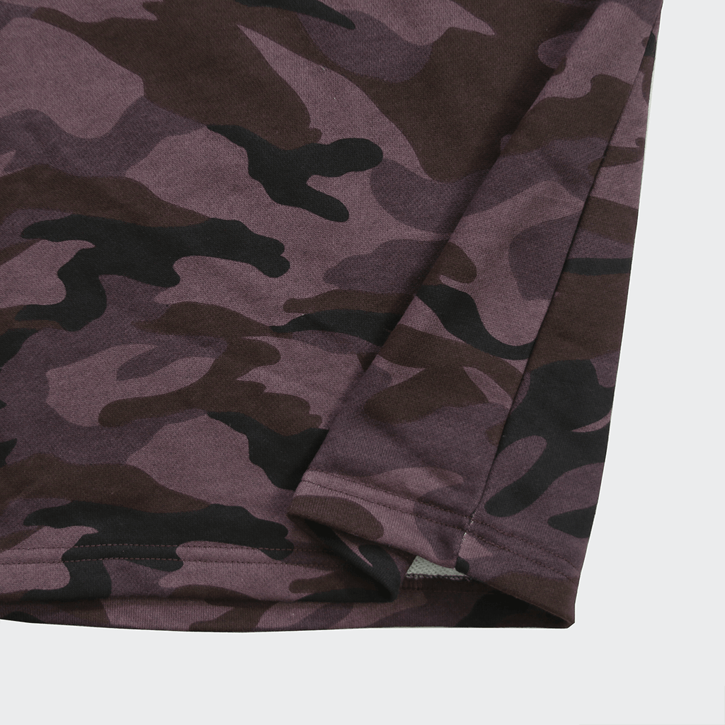 Oversized Terry Tee - Woodland Purple Camo