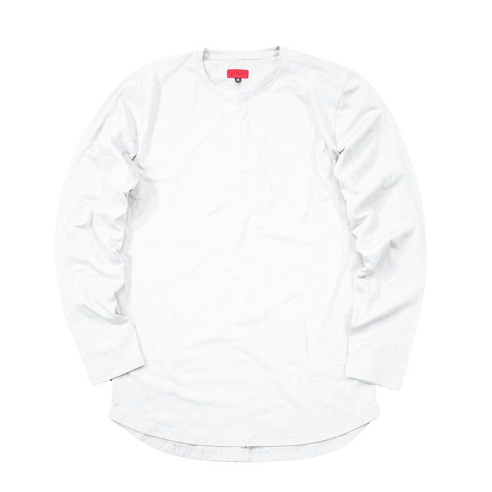 Standard Issue SI-12 L/S Essential - White (07.23.20 Release)