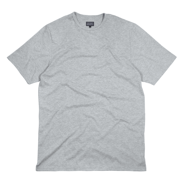 Premium Flat-Hem Basic - Heather Grey