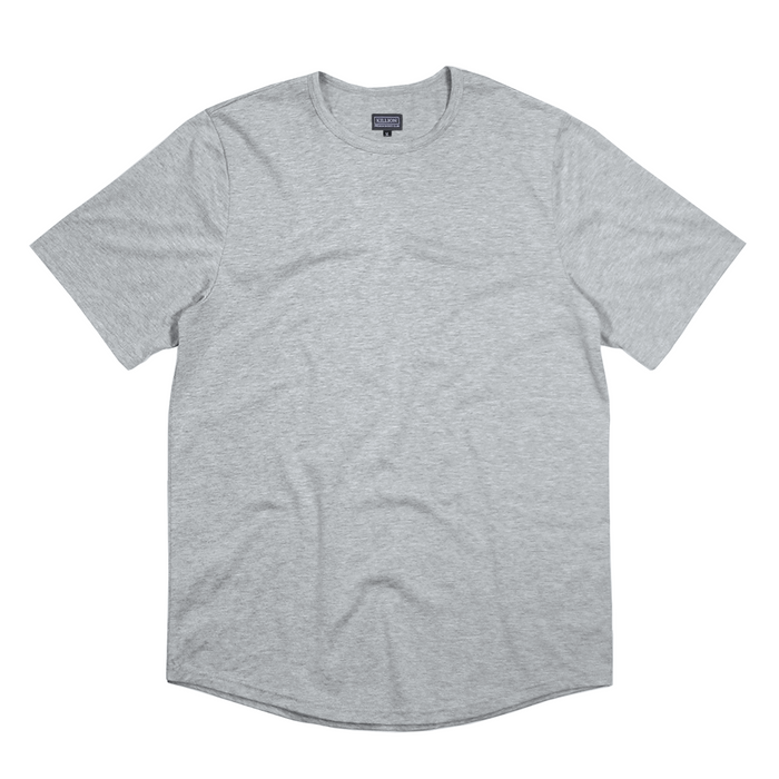 Premium Scallop Basic - Heather Grey