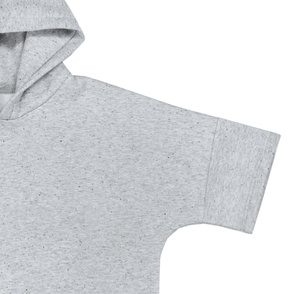 SS Speckled Hoody - Heather Grey