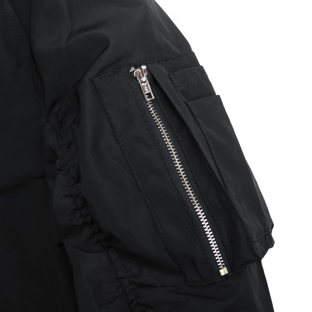 Spring Edition MA-1 Bomber Jacket - Black