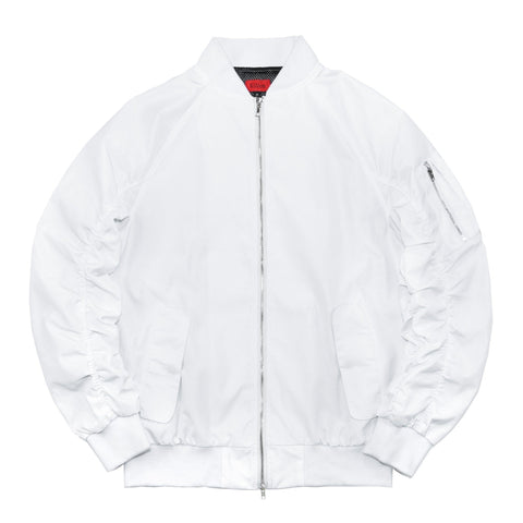 Spring Edition MA-1 Bomber Jacket - White