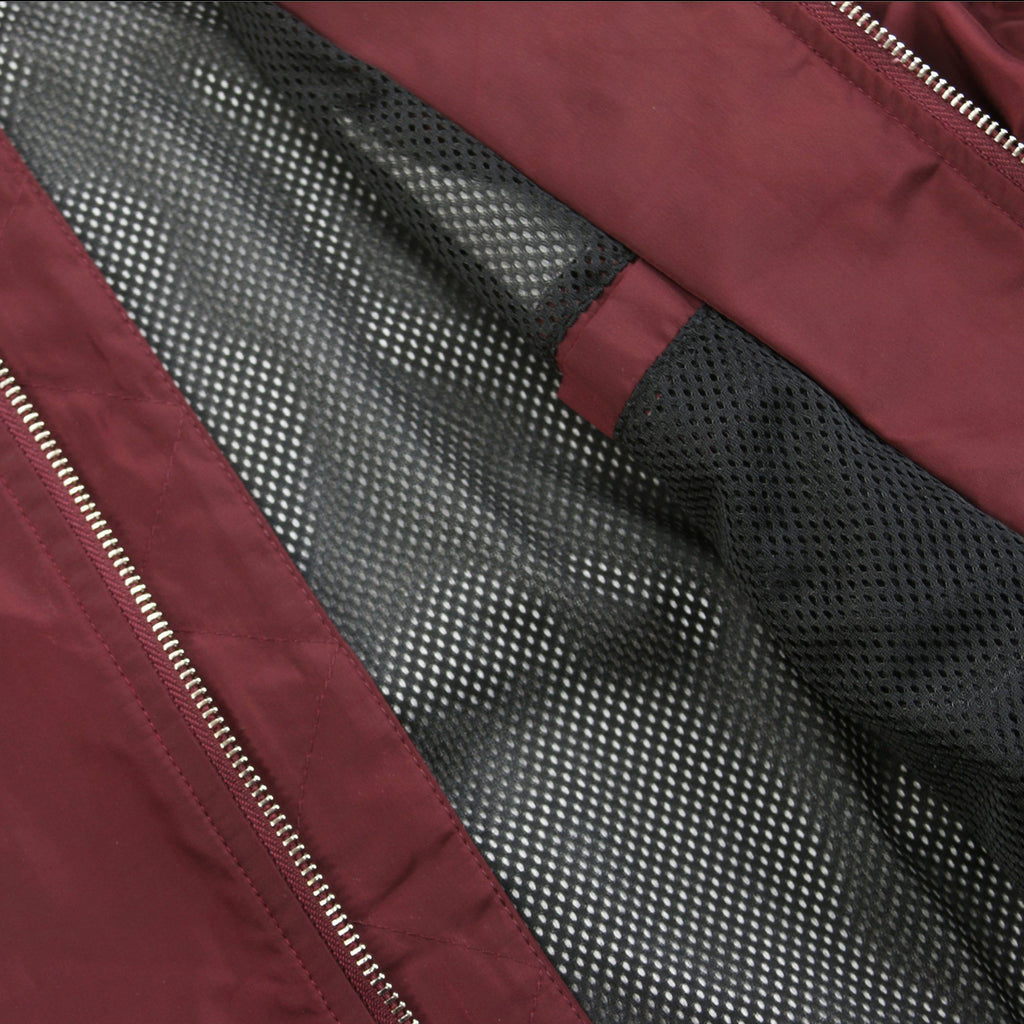 Spring Edition MA-1 Bomber Jacket - Burgundy