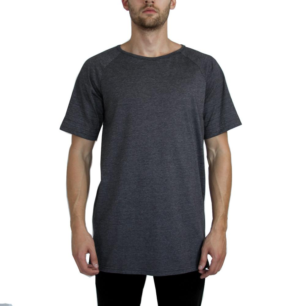 Union Extended Shirt - Charcoal Heather