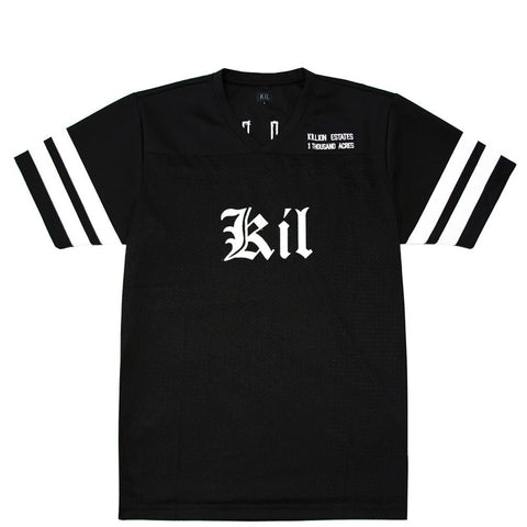 KIL Football Jersey - Black