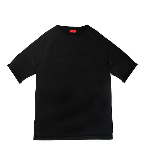 Lounger Fleece Sweater - Black