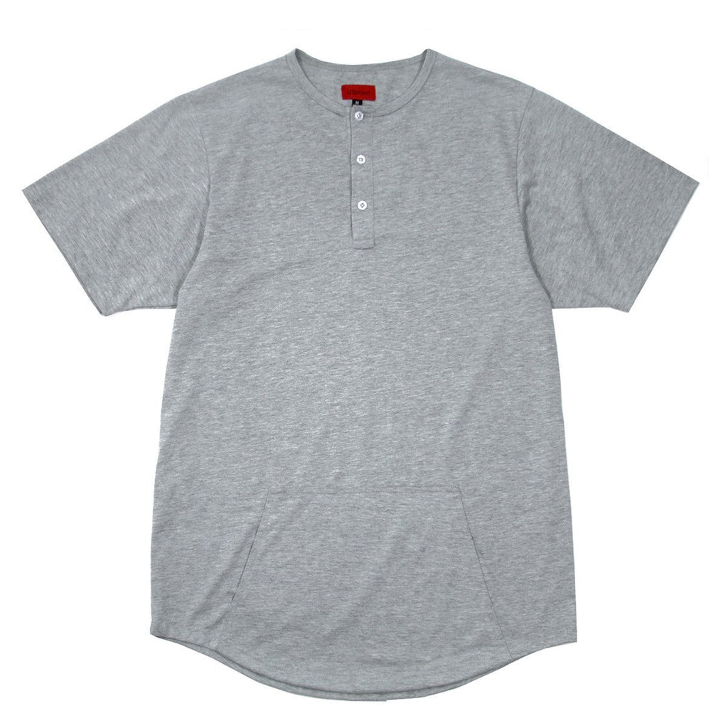 Standard Issue Madison Henley - Heather Grey