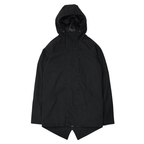 Martyr Fishtail Parka - Black