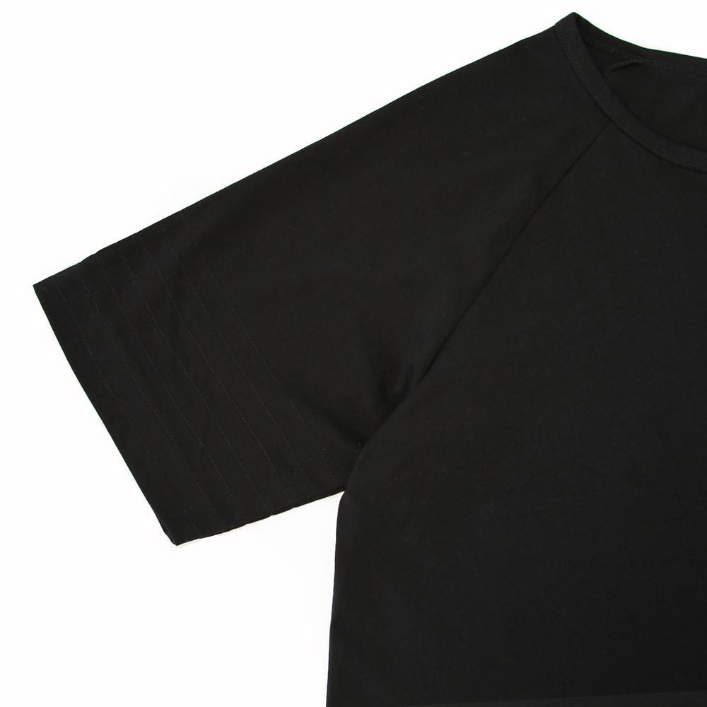 Standard Issue Scoop Extended Shirt - Black